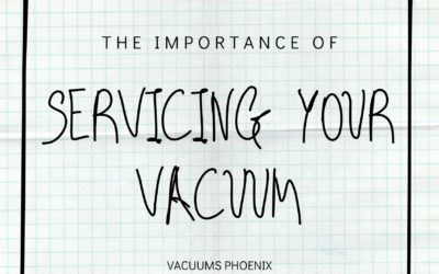 Servicing Your Vacuum